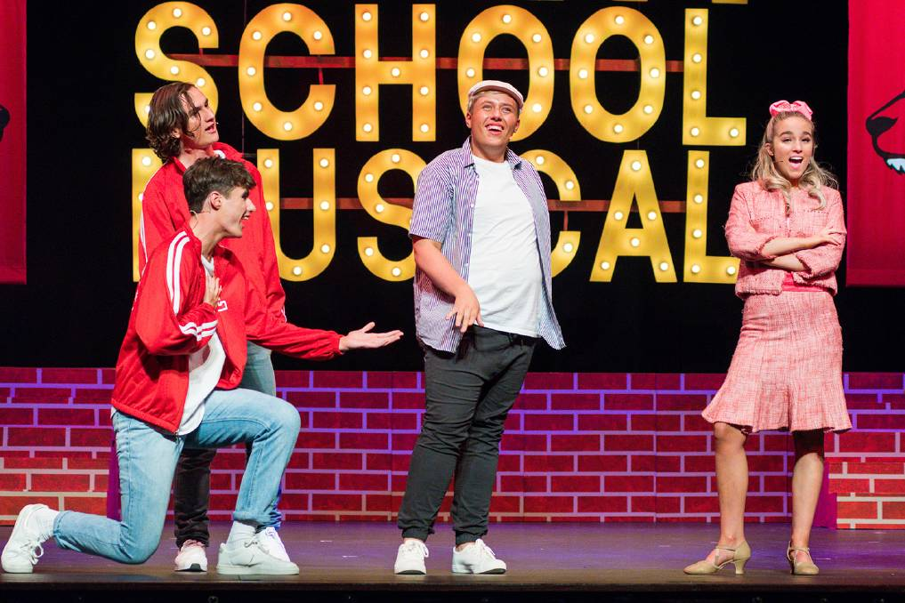 MUSICAL: St Pats college are ready to showcase their production of High School Musical at the Princess Theatre this week. Picture: Phillip Biggs
