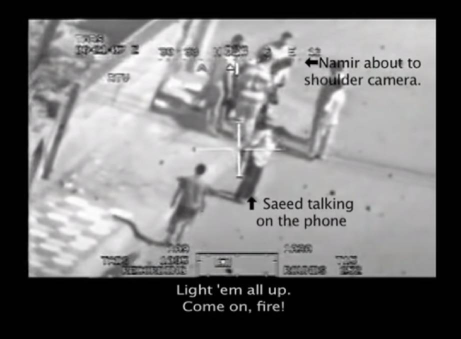 The video released by Wikileaks in 2010 shows a US Apache helicopter gun down two Reuters staff in Baghdad. Dean Yates, who lives in Evandale, was their bureau chief - and his evidence is part of Julian Assange's extradition defence.