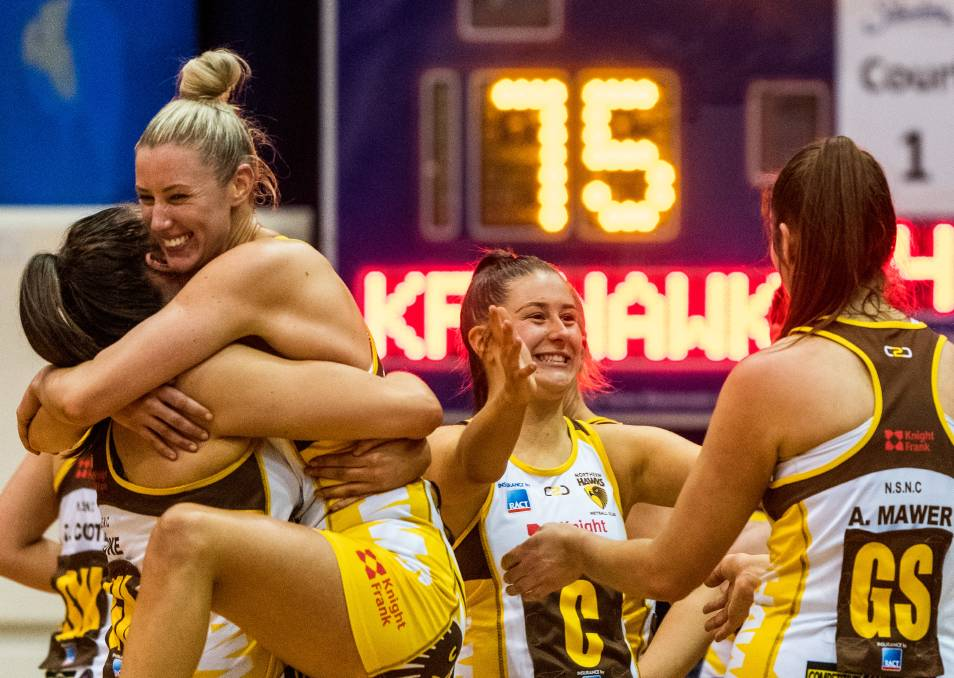 Hawks go untouched - win State Netball League