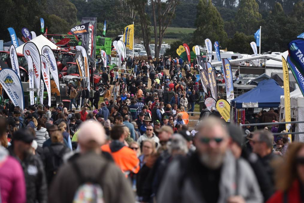 Crowds: 65,794 visitors celebrated Tasmanias agriculture sector in 2018. Picture: Paul Scambler