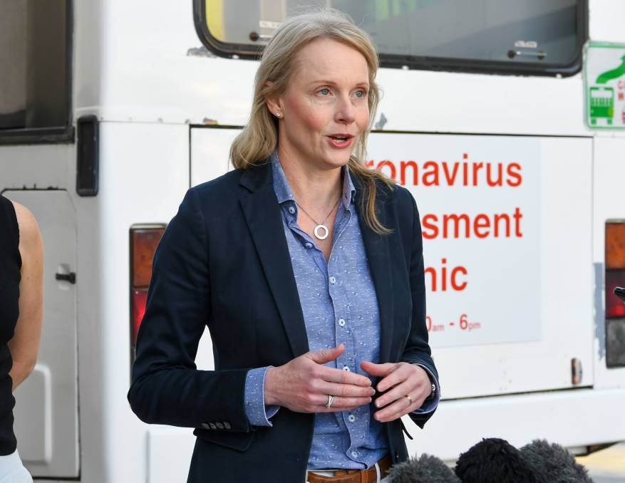 Health Minister Sarah Courtney says it is important for Tasmania to ensure it has enough skilled workers to deliver the vaccination program.
