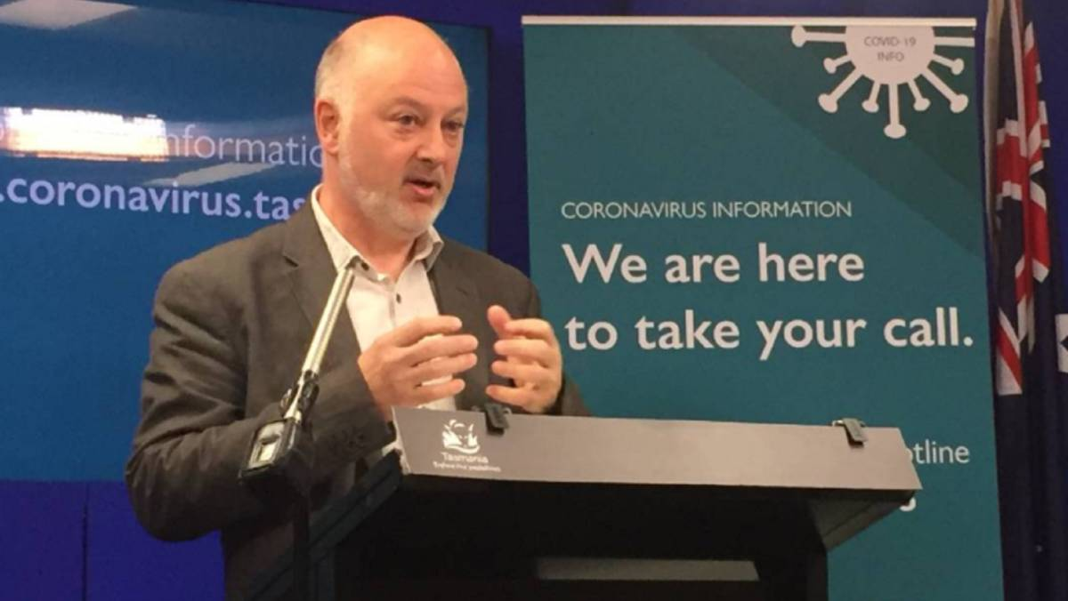 Public Health director Mark Veitch has urged Tasmanians not to be complacement with coronavirus testing.