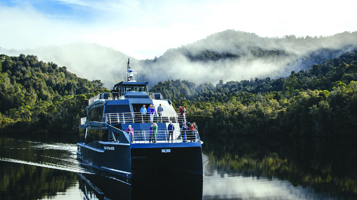 Take in Tasmania's beauty on a Gordon River Cruise. Picture: Supplied