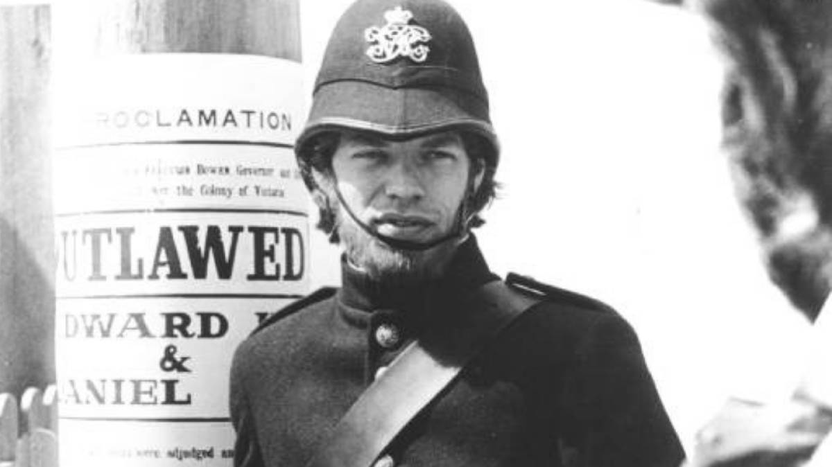 Mick Jagger in the 1969 film 'Ned Kelly'. Photo: B&DHS