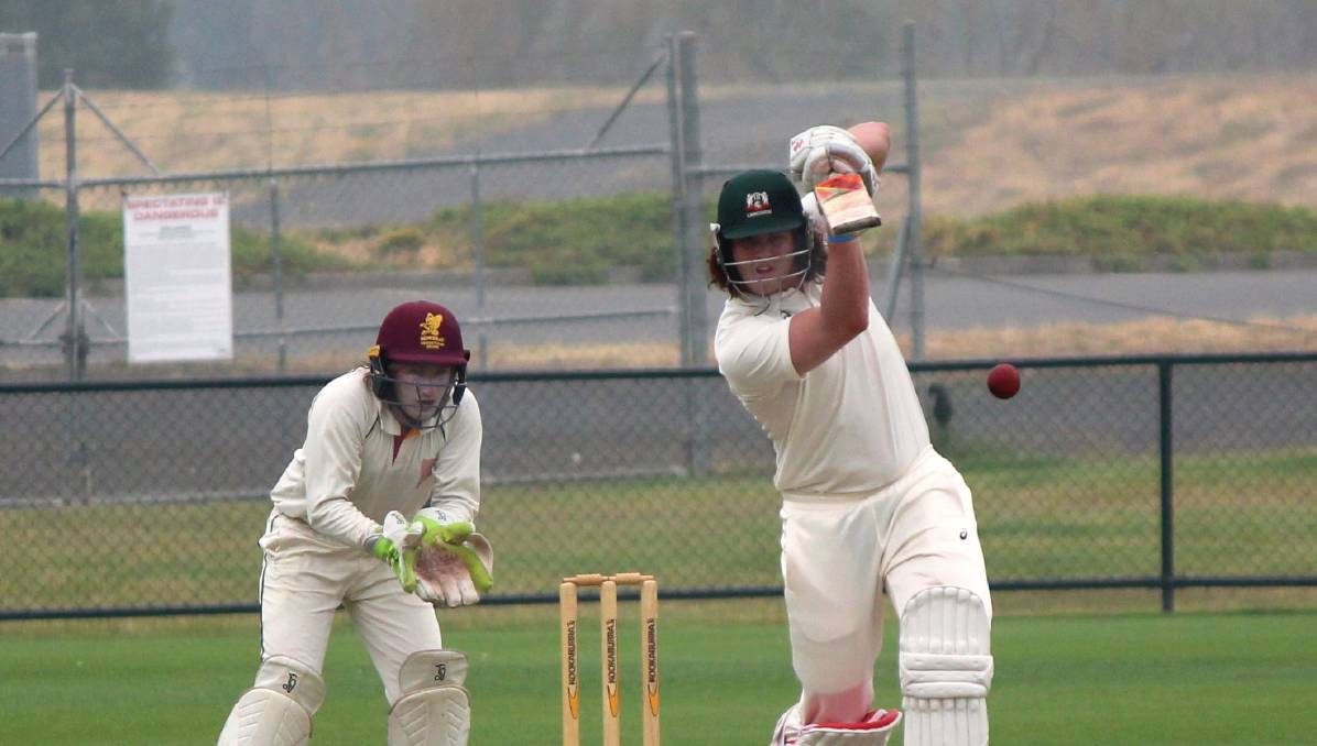 FORM: Launceston batsman Ethan Conway became the third player this season to claim multiple player of the round awards.