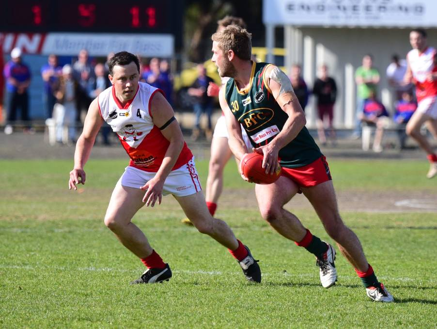 FOREVER YOUNG: Matthew Bosworth will play his 500th game as a Redleg on Saturday. Picture: Paul Scambler