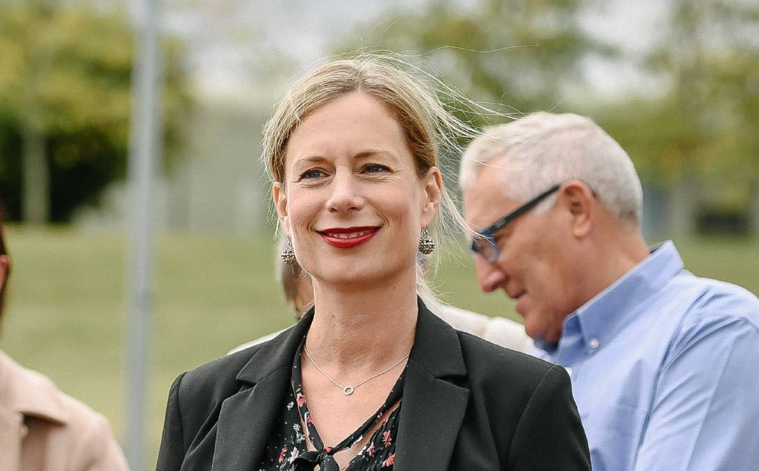Labor leader Rebecca White says the chaos that has beset the party since the beginning of the state election campaign is 'behind us now'. Picture: Craig George