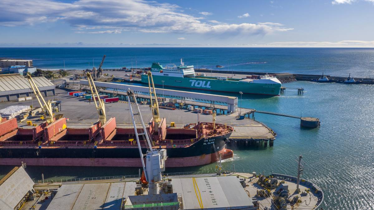 PORT PRIORITY: The Port of Burnie has been added to Infrastructure Australia's priority list. Picture: Supplied