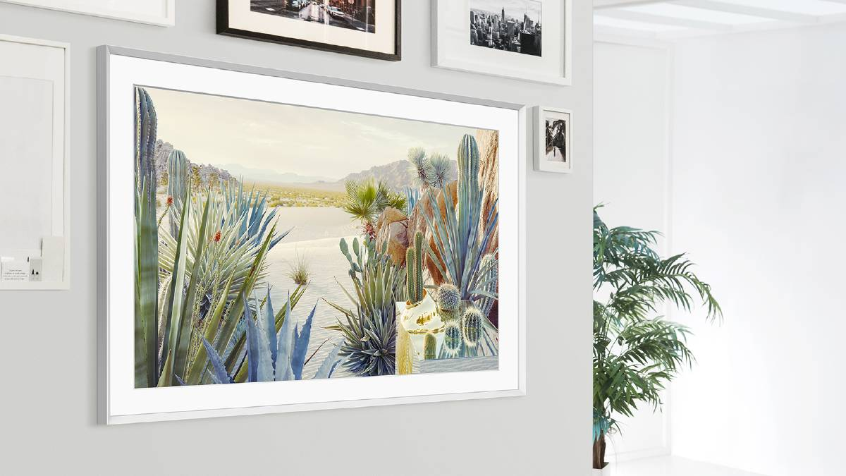 With more than 1400 artworks, The Frame TV provides a novel way of bringing natural elements into your home decor. From $919 at samsung.com/au.