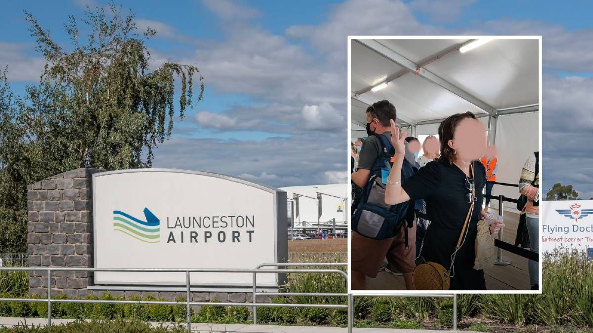 A Queensland woman was arrested and charged for allegedly not wearing a mask at Launceston Airport.