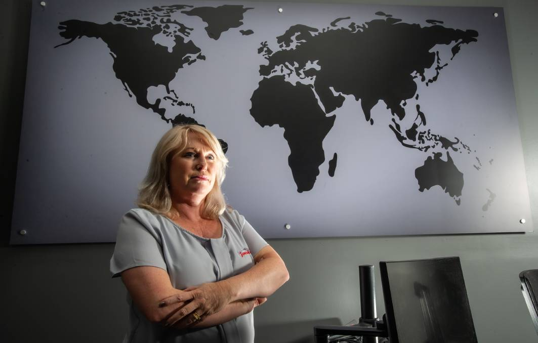 Jamison Travel director Michelle Everson anticipated some travel bubbles would be possible this year, a glimmer of hope for her business of almost 30 years. Picture: Karleen Minney