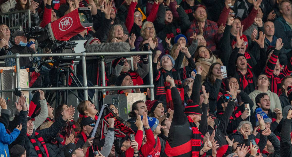 Crowd at Hawthorn versus Essendon match sends message with ...