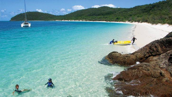 Dreaming of boating in the Whitsundays? Photo: Cumberland Charter Yachts