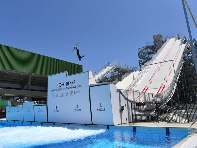 Brisbane's Winter Olympics training centre has been a boon for aerial skier Danielle Scott.