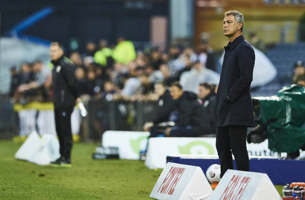 Broad perspective: Mark Rudan surveys the Australian soccer landscape from the Western United dugout. Picture: WUFC