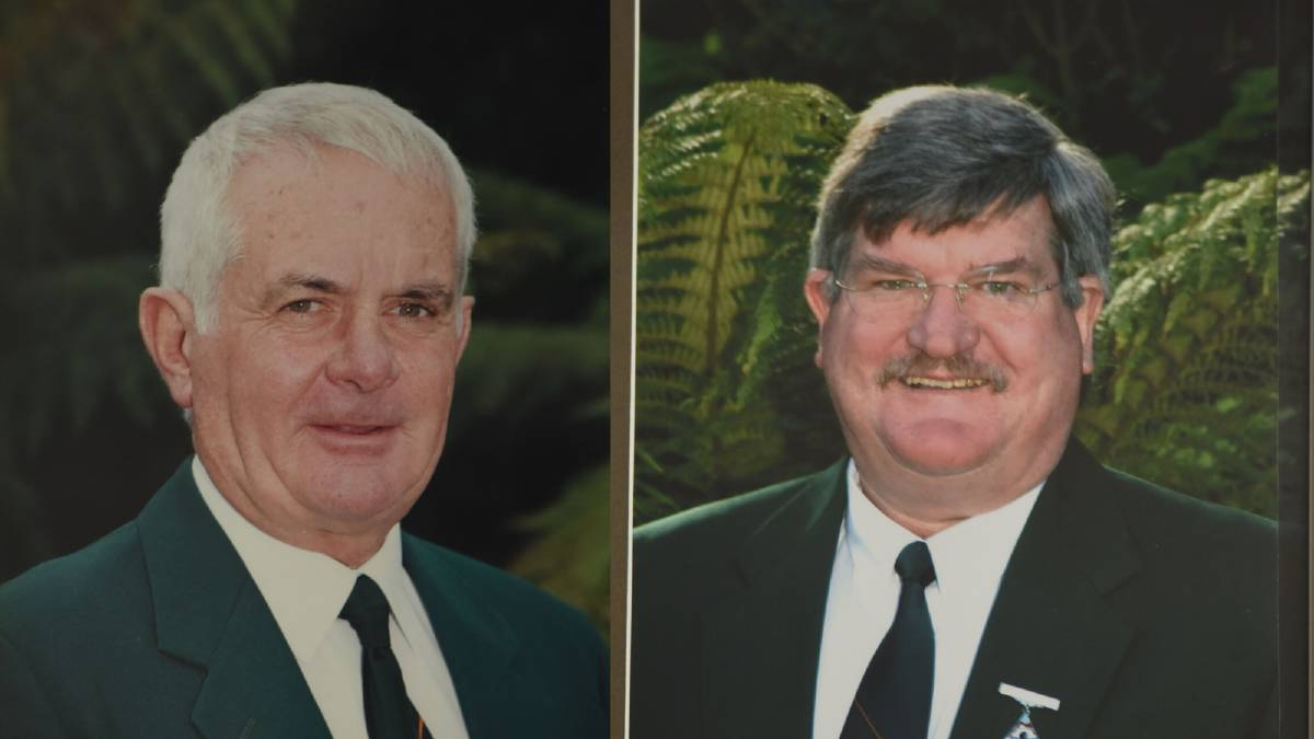 Tony Long and Tony Benneworth, were both long-time members and presidents of Trevallyn Bowls and Community Club.