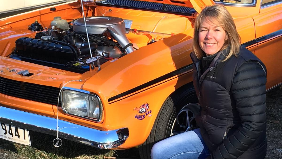 Wheel Nuts Cathy S 1970 Ford Capri Gt Is A Real Head Turner In Deloraine The Examiner Launceston Tas